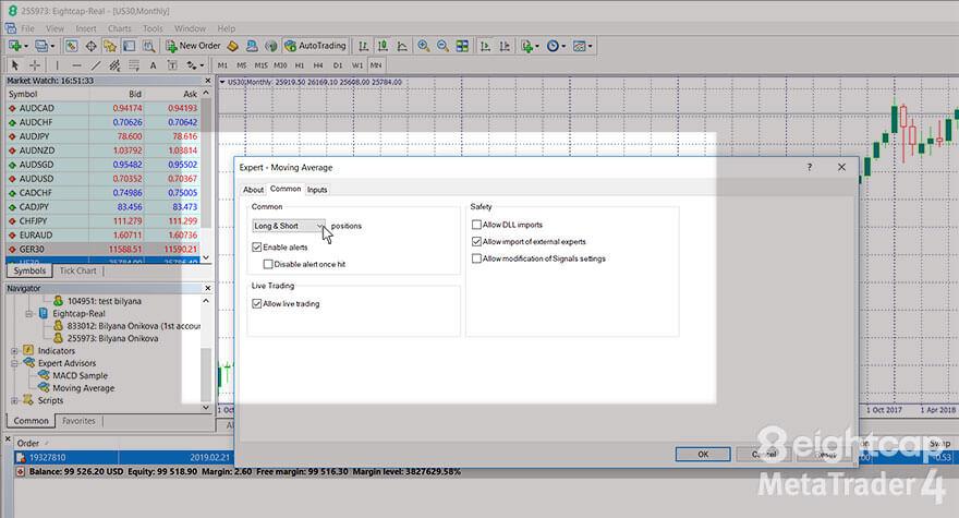 Eightcap Expert Advisors For Metatrader 4 Platform