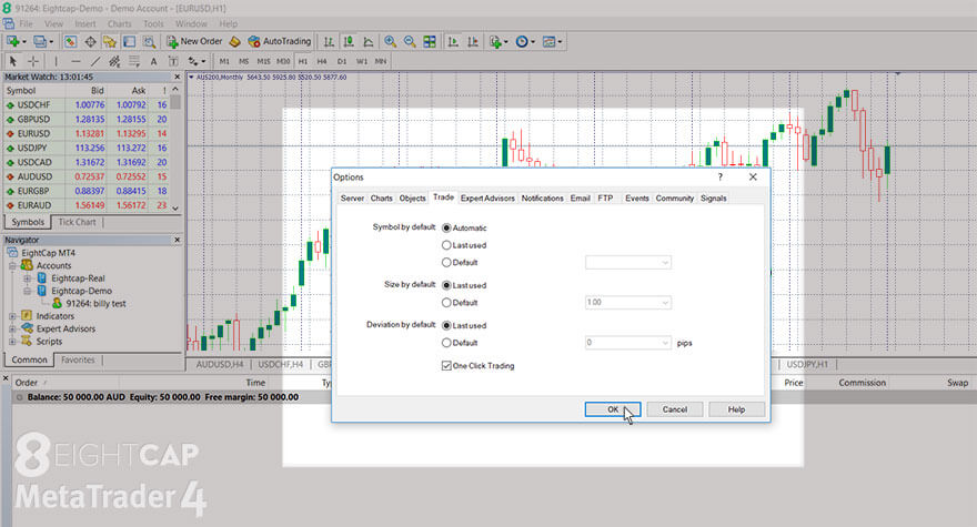 Eightcap How To Open And Close Trades In Metatrader 4