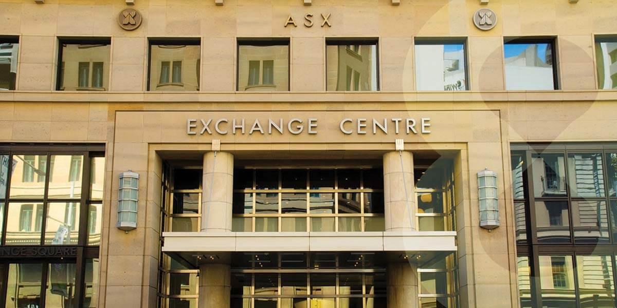 The facade of the ASX Exchange Centre