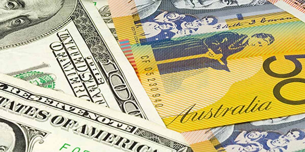 Banknotes of the US Dollar and Australian Dollar