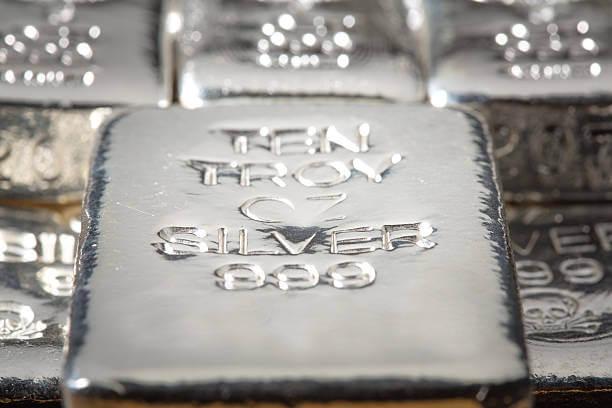 Ten Troy Oz Silver 999 bars