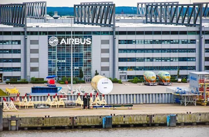 Airbus' German Headquarters in Hamburg